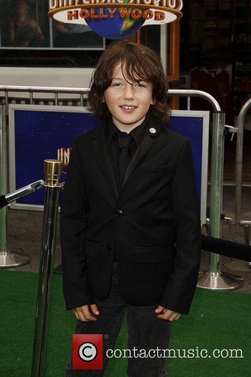 Django Marsh,  Los Angeles premiere of 'Hop'...