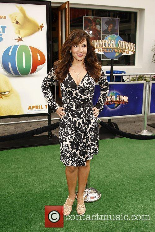 Maria Canals,  Los Angeles premiere of 'Hop'...