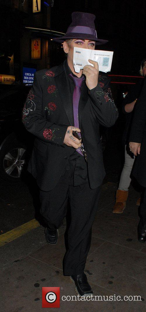 Boy George and Cafe De Paris 1