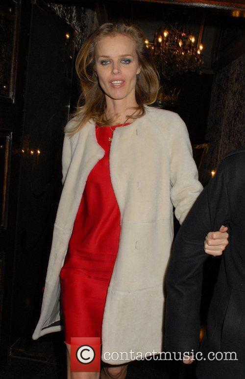 Eva Herzigova and Cafe De Paris 5