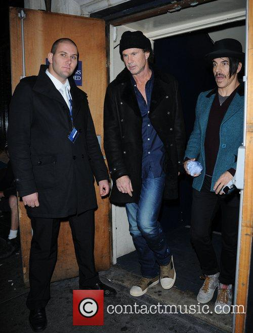 Anthony Kiedis, Chad Smith, Red Hot Chili Peppers and Cafe De Paris 5