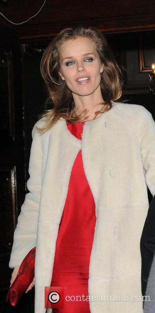 Eva Herzigova and Cafe De Paris 1