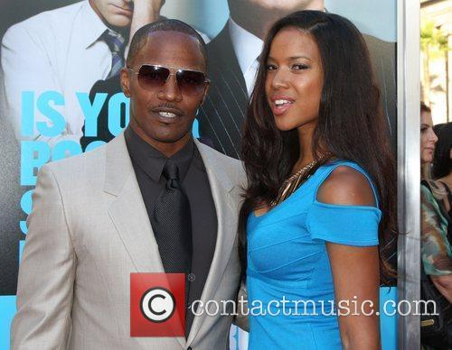Jamie Foxx The Los Angeles premiere of 'Horrible...