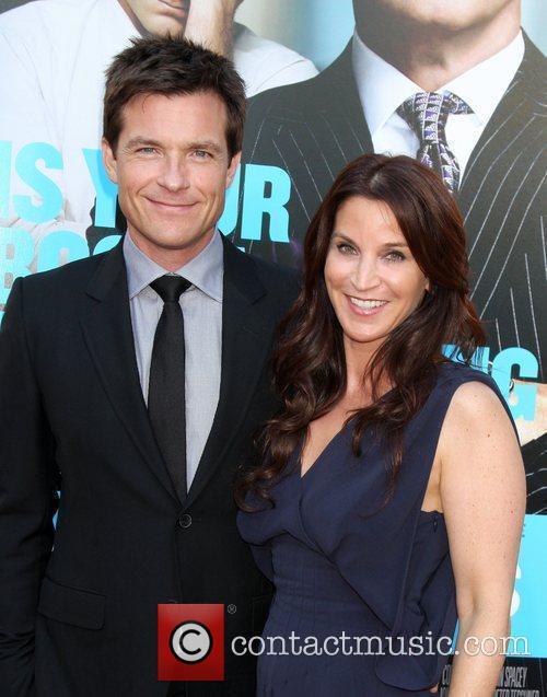 Jason Bateman and Amanda Anka The Los Angeles...