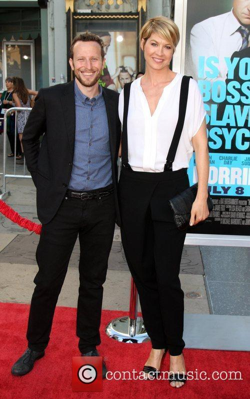 Bohdi and Jenna Elfman The Los Angeles premiere...