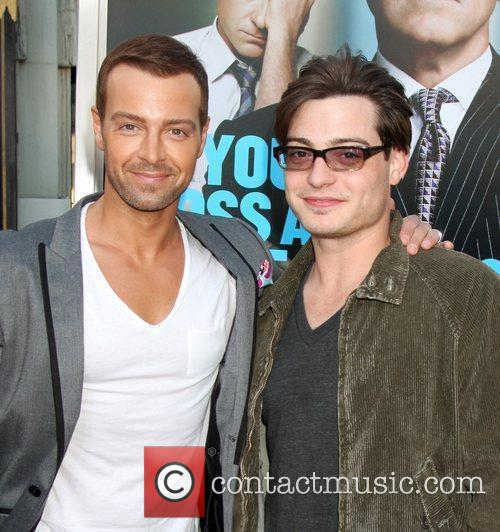 Joey Lawrence and Andrew Lawrence The Los Angeles...