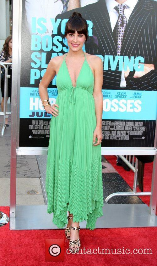 Lindsay Sloane The Los Angeles premiere of 'Horrible...