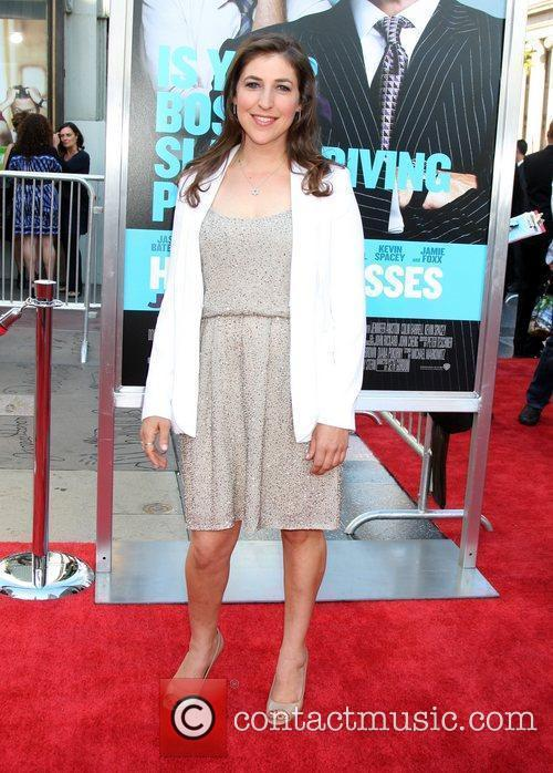 Mayim Bialik The Los Angeles premiere of 'Horrible...