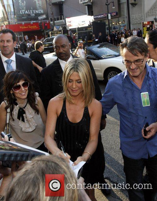 Jennifer Aniston The Los Angeles premiere of 'Horrible...