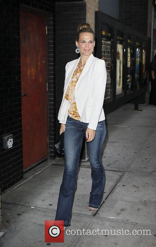 Molly Sims Celebrities arrive for a screening of...