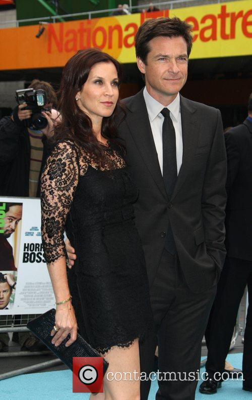 Jason Bateman with hiw wife Amanda Anka 'Horrible...