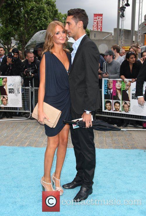 Millie Mackintosh and Hugo Taylor 'Horrible Bosses' UK...