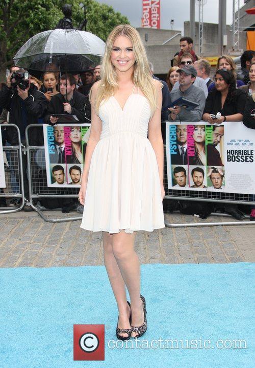 Zoe Salmon 'Horrible Bosses' UK premiere held at...