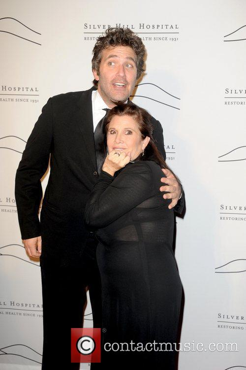 Craig Bierko and Carrie Fisher 1