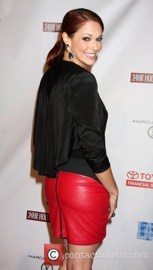 Amanda Righetti  24 Hour Hollywood Rush at...
