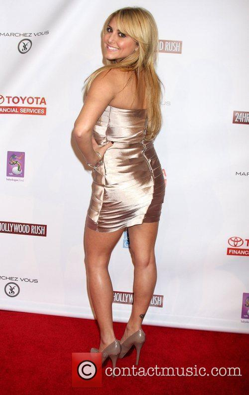 Cassie Scerbo 24 Hour Hollywood Rush at the...
