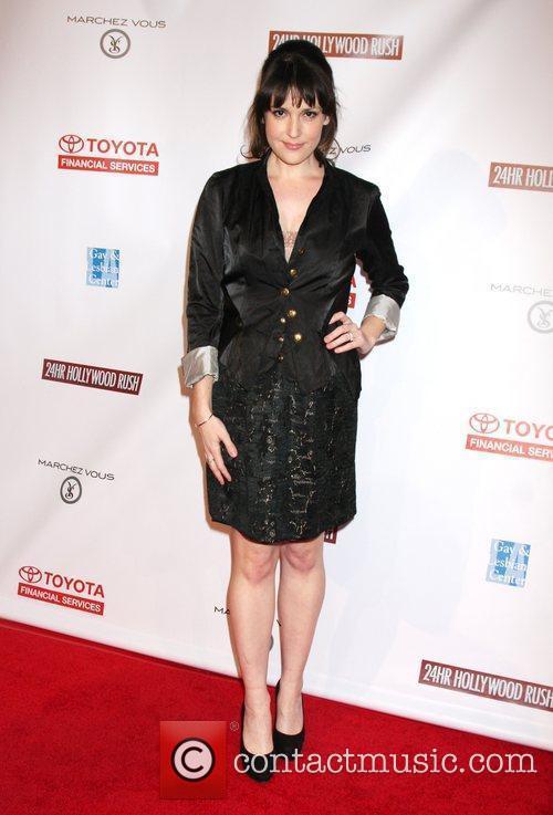 Melanie Lynsky 24 Hour Hollywood Rush at the...