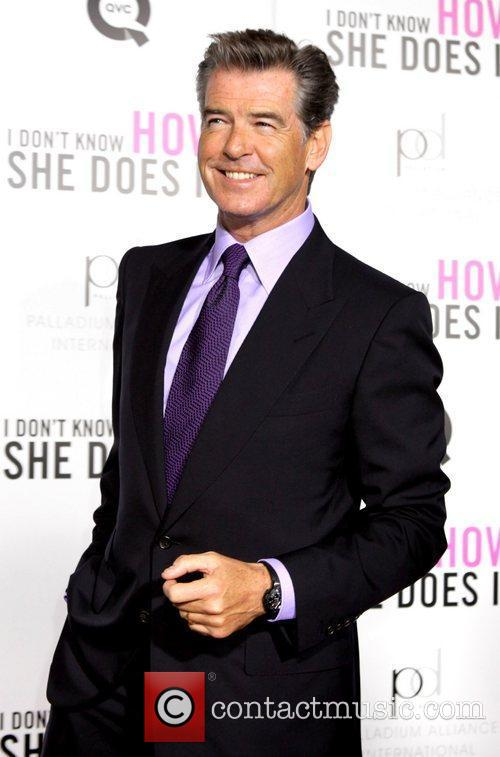 Pierce Brosnan New York premiere of 'I Don't...