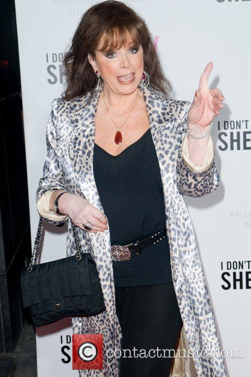 Jackie Collins New York premiere of 'I Don't...