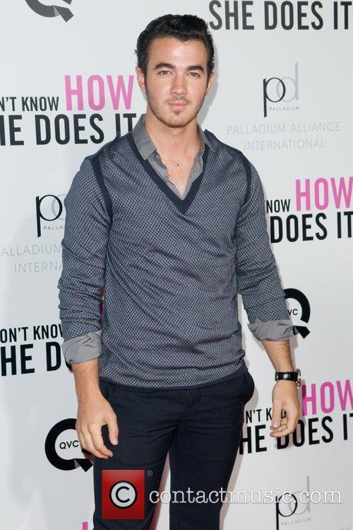 Kevin Jonas New York premiere of 'I Don't...
