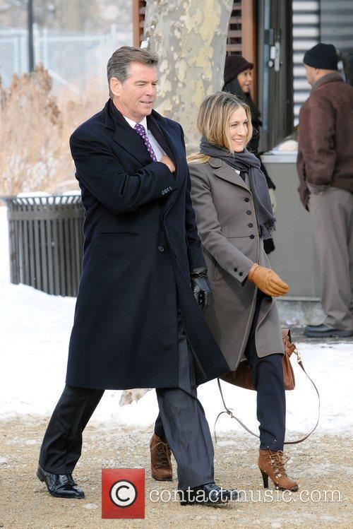 Sarah Jessica Parker and Pierce Brosnan 12