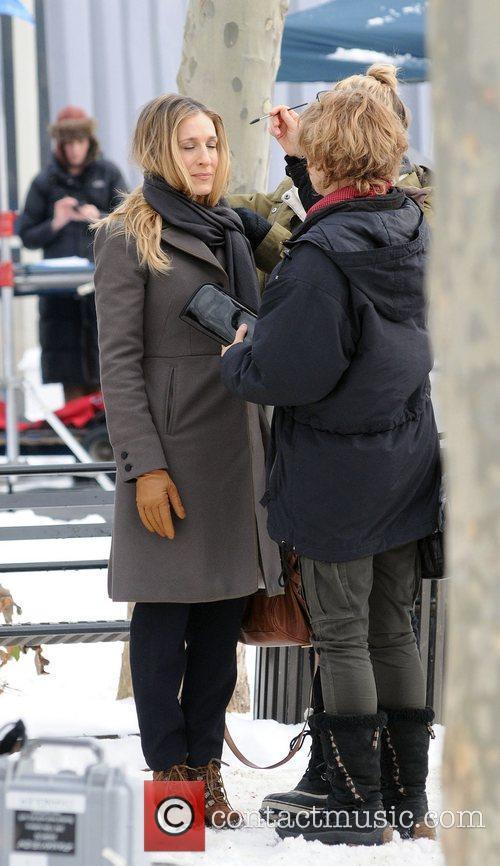 Sarah Jessica Parker and Pierce Brosnan 4