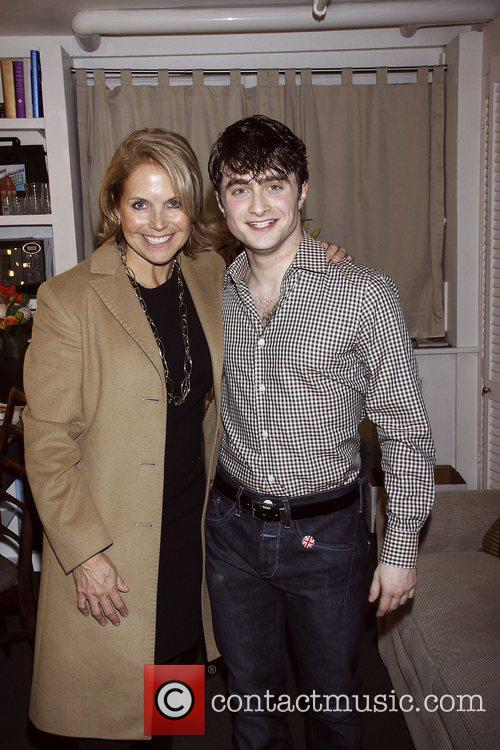 Katie Couric and Daniel Radcliffe 2