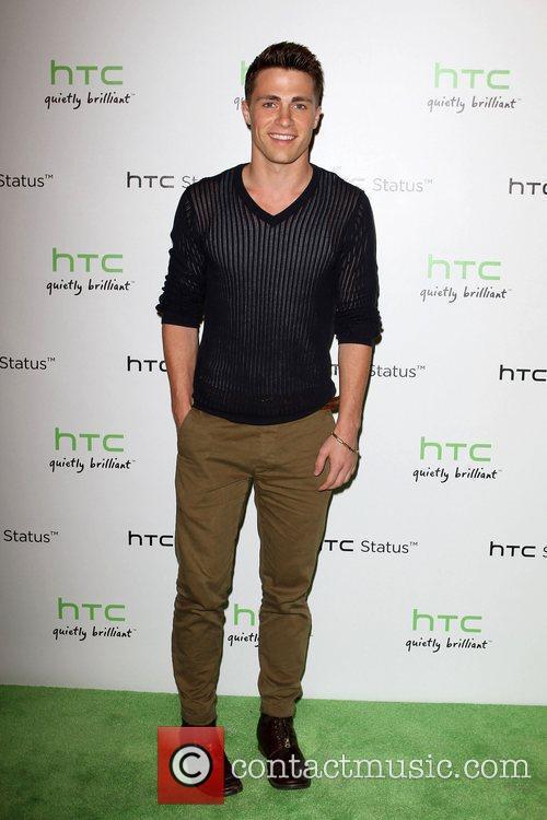 Colton Haynes The HTC Status Social launch event...