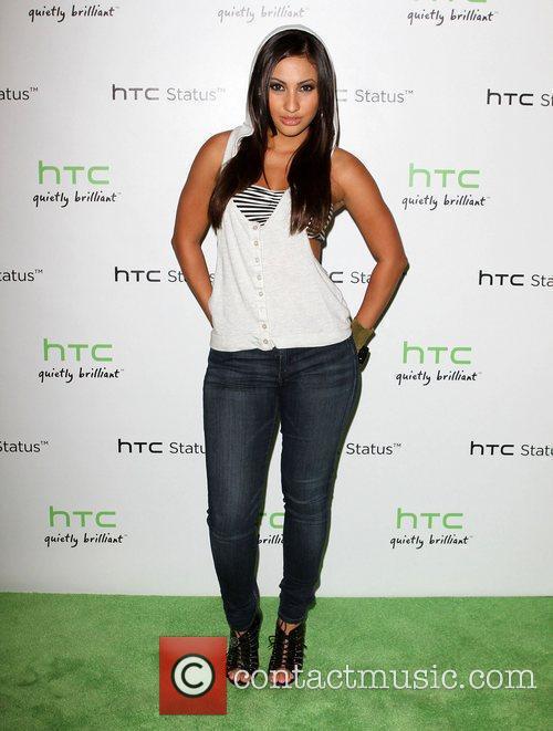 Francia Raisa The HTC Status Social launch event...