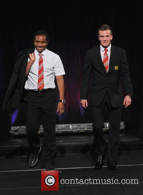 Anderson and Tom Cleverley Hublot 'Art of Fusion'...