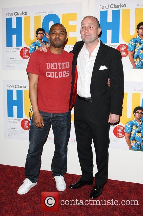 Noel Clarke, Johnny Harris UK premiere of 'Huge'...