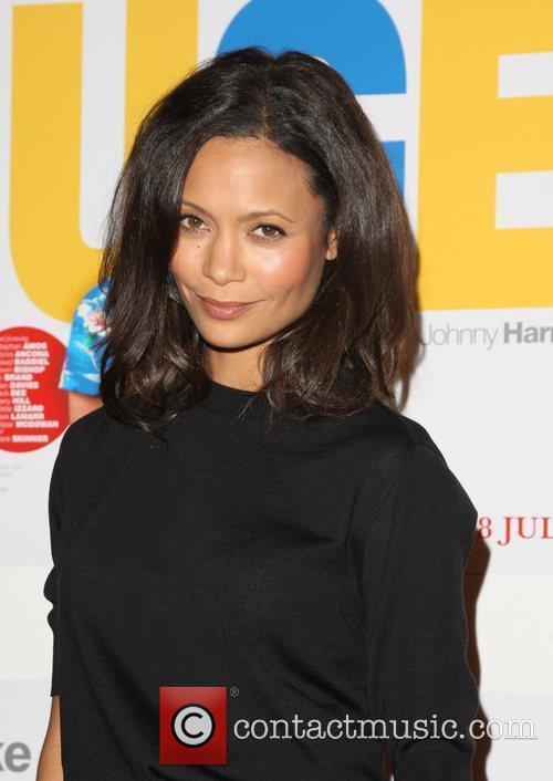 Thandie Newton UK premiere of 'Huge' held at...