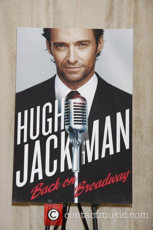 Atmosphere 'Hugh Jackman On Broadway' press event held...