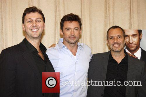 Warren Carlyle, Hugh Jackman and Patrick Vaccariello 'Hugh...