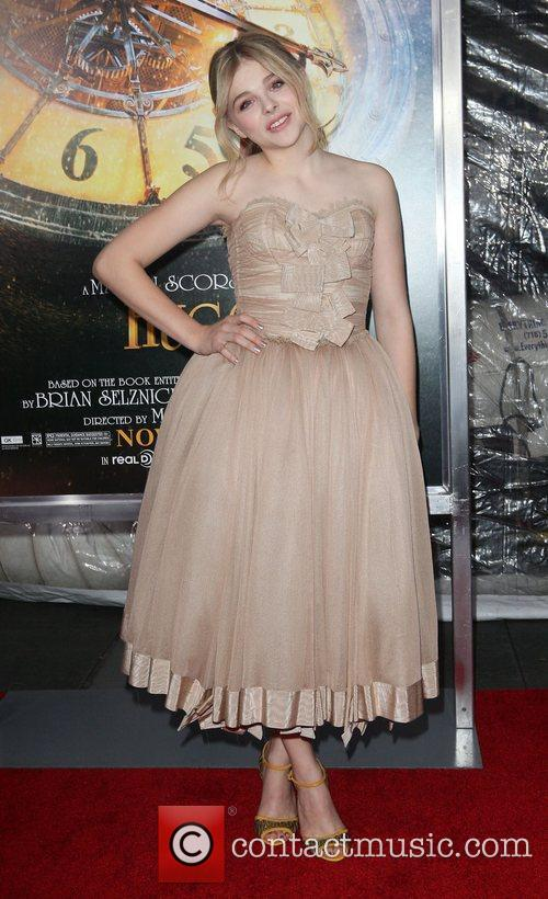Chloe Moretz and Ziegfeld Theatre 2