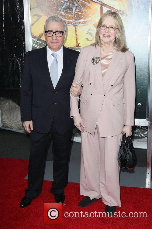 Martin Scorsese, Helen Scorsese and Ziegfeld Theatre 1