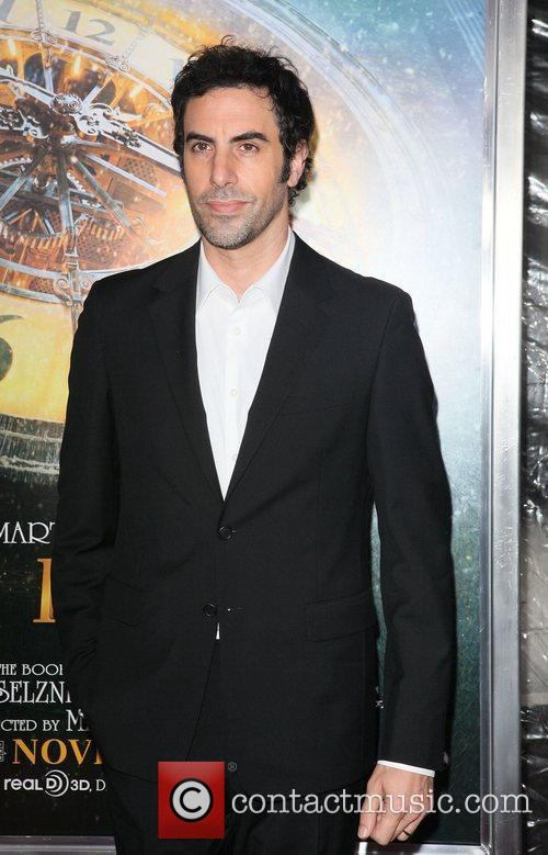 Sacha Baron Cohen and Ziegfeld Theatre 2