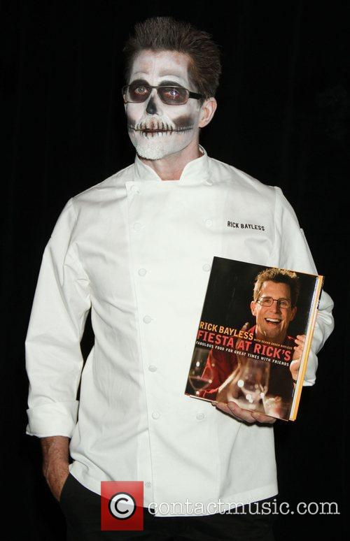 rick bayless bette midlers annual hulaween gala 3583637