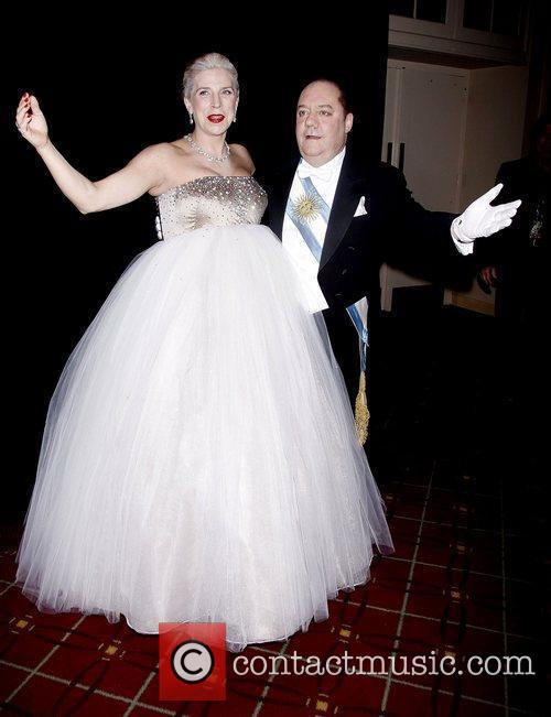 margo mcnabb nederlander and jimmy nederlander dressed 3581998