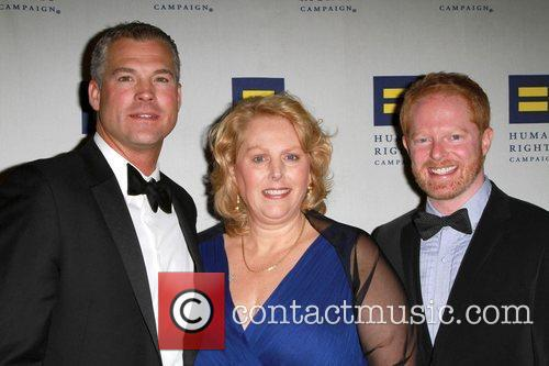 HRC gala co-chair Clare Thomas, Jesse Tyler Ferguson...