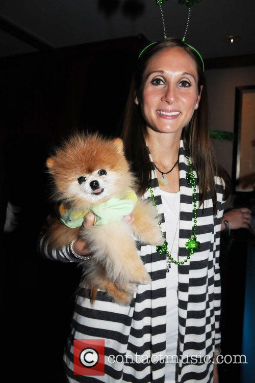 Guests St. Pawtricks Yappy Hour benefiting the Humane...