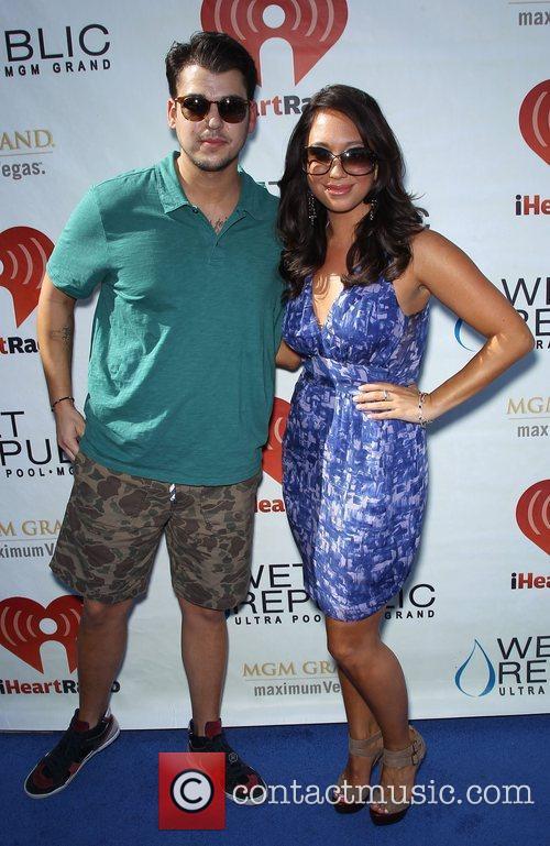 Rob Kardashian and Cheryl Burke - wearing a...