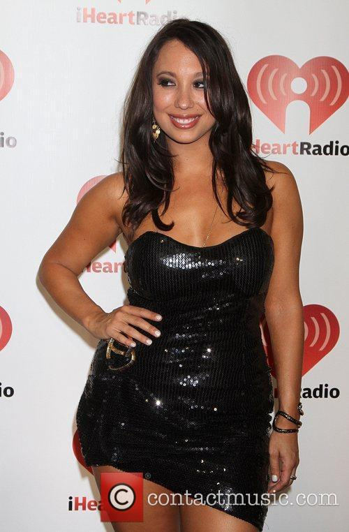 Cheryl Burke I Heart Radio music festival at...
