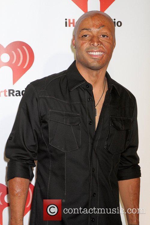 J.R. Martinez I Heart Radio music festival at...