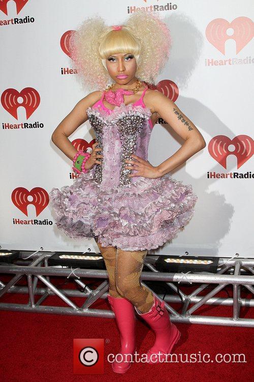 Nicki Minaj I Heart Radio music festival at...