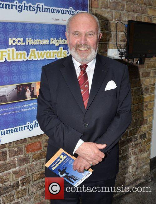 Senator David Norris,  Spanish actress turned director...
