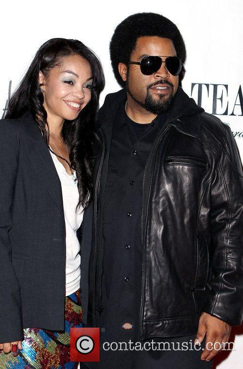 Ice Cube with cool, Wife Kimberly Woodruff