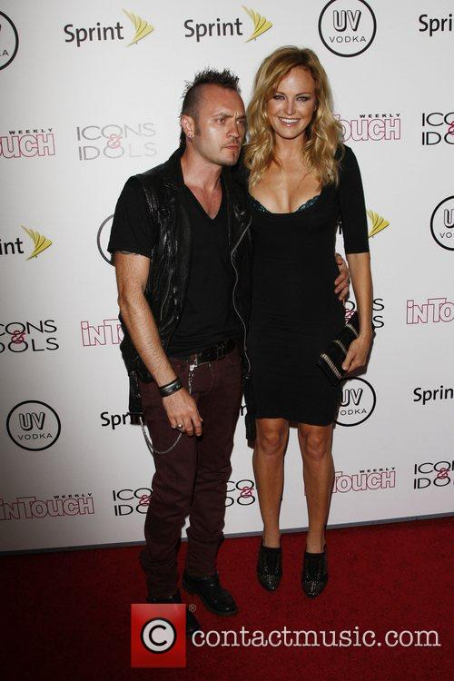 Malin Akerman and her husband Roberto Zincone In