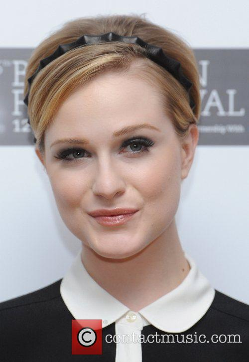 Evan Rachel Wood and Odeon West End 7