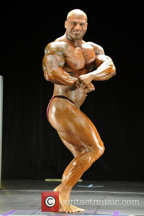 Santana Anderson   Men's Open Bodybuilding Competition...